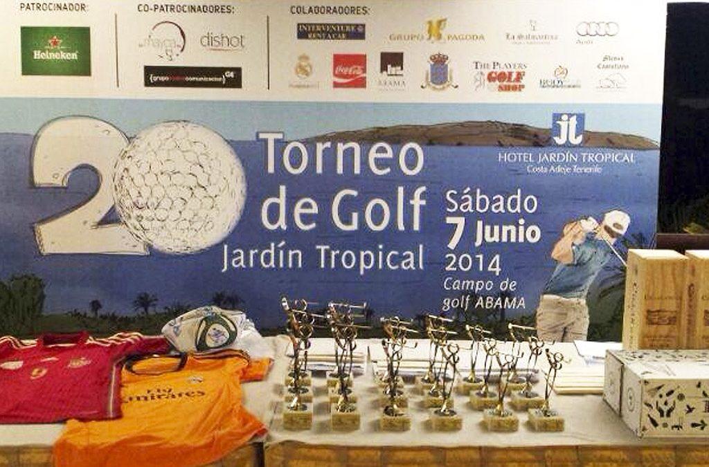 DC Mayca en el torneo de golf Jardín Tropical